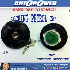 LOCKING PETROL FUEL CAP for FIAT PUNTO 1998 on