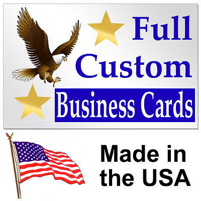 """1000 2""""x3.5"""" Custom Personalized Business Cards on Rummage"""