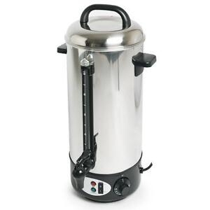 BRAND NEW STAINLESS STEEL 10L HOT WATER URN