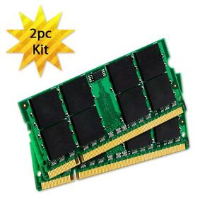 2GB (2x1GB) Kit Memory RAM Upgrade for Apple PowerBook G4 17 M9970LL/A