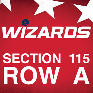 2 Tickets - Washington Wizards vs. Brooklyn Nets LL ROW A