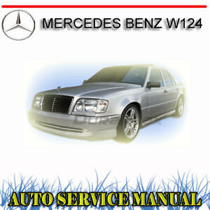 Mercedes benz w124 service repair manual dvd ebay for Mercedes benz online repair manual