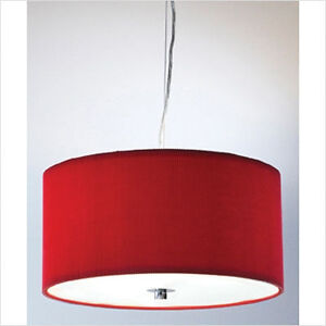 Dar Lighting Zaragoza Contemporary Pendant - ZAR1025
