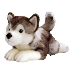 Husky dog soft toy stuffed animal plush toy STORM - NEW