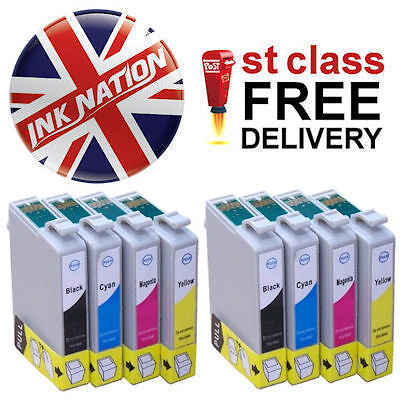 2x Sets of T1295 8x Compatible Ink Cartridges For BX630FW Printers