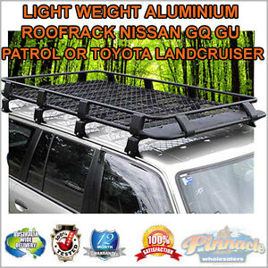 FULL LENGTH ROOF RACK FOR NISSAN PATROL GQ GU FOR TOYOTA LANDCRUSER ADR APPROV
