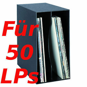lp box aufbewahrung von 50 lps vinyl schallplatten schrank. Black Bedroom Furniture Sets. Home Design Ideas