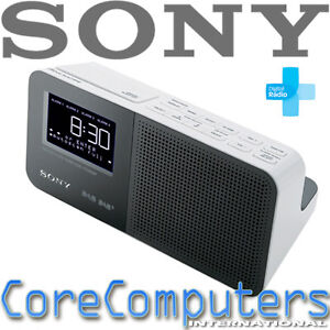 sony alarm clock dab digital radio display fm new. Black Bedroom Furniture Sets. Home Design Ideas