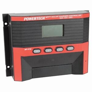 Powertech MPPT 30 amp NEW MODEL Solar Regulator Charge Controller 30A 12V 24V