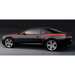 2010-2012-CHEVROLET-CAMARO-Heritage-Stripe-Kit-Orange-20990195-GENUINE-OEM-GM