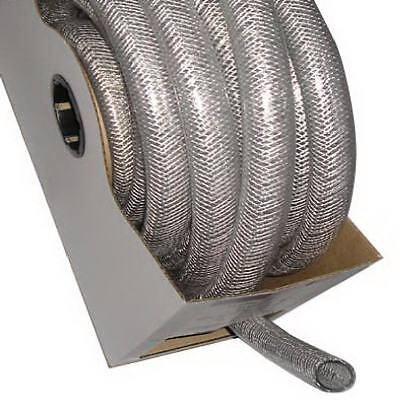 Clear Braided Reinforced Pvc Hosetubing 1 Id X 1.312 Od X 50 High Pressure