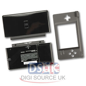 Black Replacement Shell Case Cover for Nintendo DS Lite