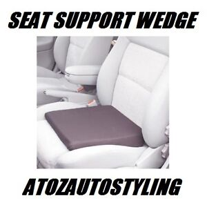 CAR-SEAT-SUPPORT-WEDGE-HEIGHT-BOOSTER-CUSHION-NEW