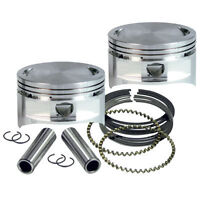 S&S forged flattop pistons