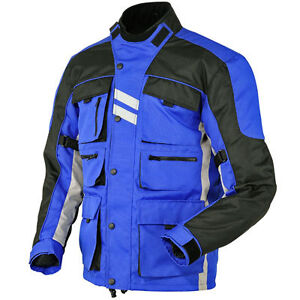 Mens-Armoured-WaterProof-Cordura-Textile-Motorbike-Motorcycle-Jacket-Collection