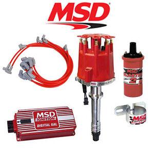 msd ignition complete kit digital 6al distributor wires. Black Bedroom Furniture Sets. Home Design Ideas