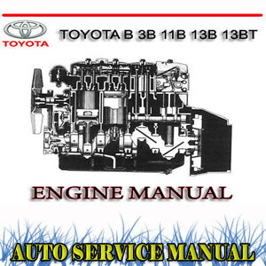 Jt3d 3b Engine manual