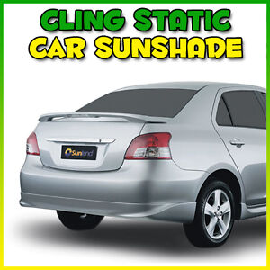 CAR SUN SHADE SEE-THRU STATIC CLING SUNSHADE THROUGH REAR FRONT WINDOW VISOR