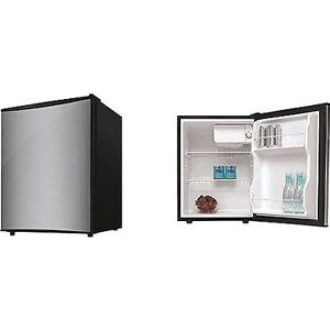 4cf refrigerator ss hs 88lss mini fridge compact dorm office bedroom