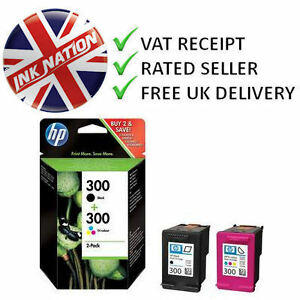 Original-Genuine-HP-300-Black-Colour-Ink-Cartridge-For-Photosmart-D110a