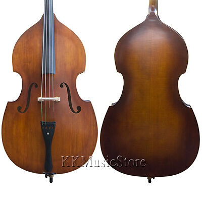 NEW CECILIO PRO QUALITY 3/4 FLAMED UPRIGHT DOUBLE BASS on Rummage