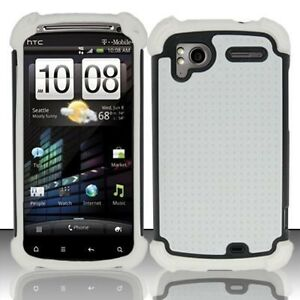 ALL-WHITE-TRIPLE-LAYER-COMBO-HYBRID-IMPACT-HARD-CASE-PHONE-COVER-HTC-SENSATION