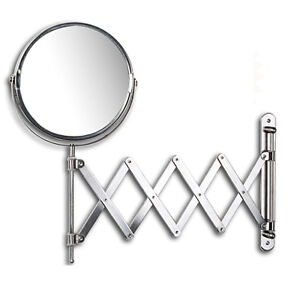 extension bathroom mirror arm extension wall mount mirror chrom bathroom mirror ebay 12810