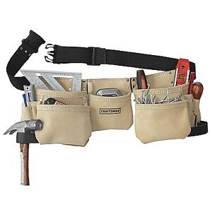 new craftsman 11 pocket carpenters tool belt apron