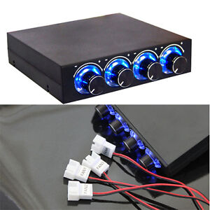 3-5-PC-HDD-CPU-4-Channel-Fan-Speed-Controller-Control-Led-Cooling-Front-Panel