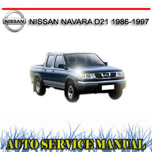 97 Nissan hardbody service manual