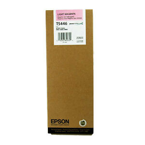 Epson Light Magenta Ink T5446 for Epson Stylus Pro 4000 7600 9600 220 ml 2014