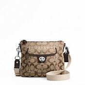Coach Signature Pocket Swingpack