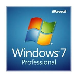 Microsoft Windows 7 Professional Genuine SP1 Full Version 64 bit