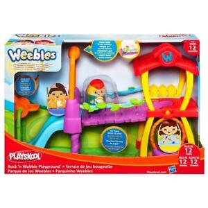 (BNIB)PLAYSKOOL Weebles - Rock 'N Wobble Playground