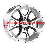 ATV RIMS Alloy Wheels NEW ITP ss108 ss212 ss216 ss312 $87 EA STI