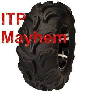 "ITP mega mayhem  Canada 27"" SET OF 4 ATV TIRE RACK Kingston Kingston Area image 1"