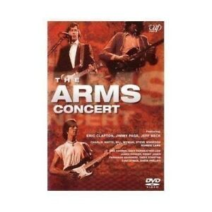 DVD - The Arms Concert - Eric Clapton , Jeff Beck