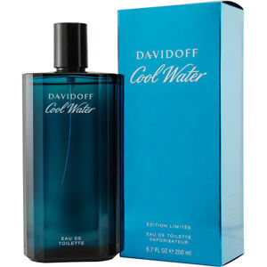 COOL WATER * Davidoff * Cologne for Men * 6.7 / 6.8 oz * BRAND NEW IN BOX