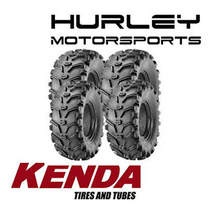 KENDA-K299-Bear-Claw-23x7-10-Front-22x12-10-Rear-ATV-Tires-Set-of-4