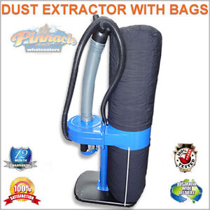 NEW-WOODWORKING-VACUUM-DUST-EXTRACTOR-COLLECTOR-240V