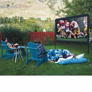 outdoor home portable backyard 120 theater movie game projector