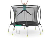 TP Toys TP281P Genius Octagonal2 Surround Safe Trampoline, 10ft