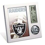 Oakland Raiders Clock
