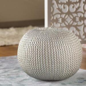 Amskroud Modern Pouf Ottoman by Bungalow Rose NEW