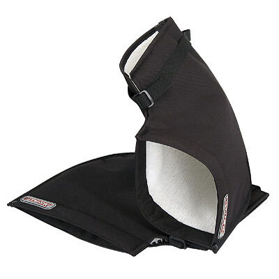 Tusk Hand Cold Weather Mitts Warmer Handlebar Universal Atv Black Gauntlets