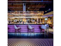 Experienced Host/Receptionist Wanted For Manchester's Coolest Restaurant & Bar