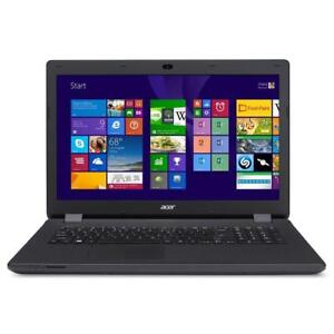 ACER Aspire E17 17-inch  ANTI-GLARE Intel Quad 2.66 turbo GHZ 4GB 500GB +Mc Office Pro 2016