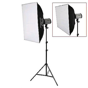 2 Newer Softboxes 50x70cm