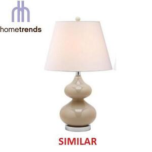 NEW HOMETRENDS TAUPE TABLE LAMP - 108882827