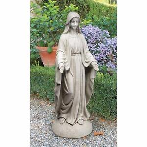 Madonna of Notre Dame Garden Grand Statue by Design Toscano NEW